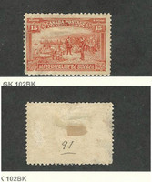 Canada, Postage Stamp, #102 Mint No Gum, 1908