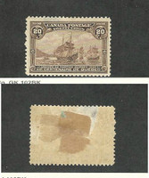 Canada, Postage Stamp, #103 Thin Mint Hinged, 1908