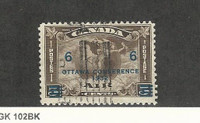 Canada, Postage Stamp, #C4 Used, 1932 Airmail