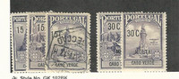 Cape Verde (Portugal), Postage Stamp, #RA1-3, RAJ2-3 Mint & Used, 1925