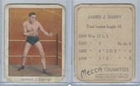 T220 Mecca Cigarettes, Champions, 1910 Boxer, James Barry