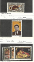 Congo, Postage Stamp, #C16 Mint, C32 Mint LH, C315-7 Used, 1963-84 Kennedy