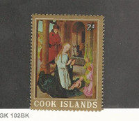 Cook Islands, Postage Stamp, #171a Mint NH (Perf 12X13), 1933 Christmas