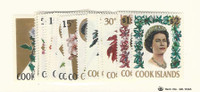 Cook Islands, Postage Stamp, #199//217 (19 Different) Mint NH, 1967-68