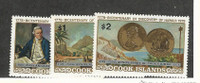 Cook Islands, Postage Stamp, #480-482 Mint NH, 1978 Ships Captain Cook