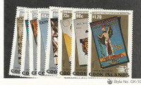 Cook Islands, Postage Stamp, #779-786 Mint NH, 1984 Olympics Sports