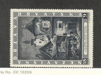 Croatia, Postage Stamp, #B39 VF Mint NH, 1943