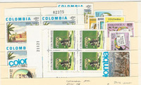 Columbia, Postage Stamp, #C612//C648 Mint NH Lot