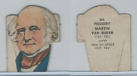 1948 US President Pop-Out Cards, #8 Martin Van Buren