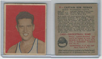 1948 Bowman Basketball, #6 Captain Bob Feerick RC, Washington Capitols