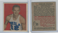 1948 Bowman Basketball, #14 Howard Dallmar RC, Philadelphia Warriors