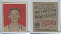 1948 Bowman Basketball, #27 John Norlander, Washington Capitols