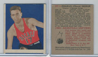 1948 Bowman Basketball, #31 Charles Gilmur, Chicago Stags
