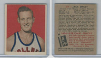 1948 Bowman Basketball, #33 Jack Smiley, Fort Wayne Zollner Pistons