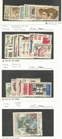 Czechoslovakia, Postage Stamp, #1497//1555 (23 Different) Used, 1967-68