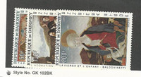 Dahomey, Postage Stamp, #C46-C48 Mint NH, 1966 Christmas