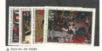 Dahomey, Postage Stamp, #C109-C112 Mint NH, 1969 Christmas