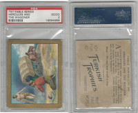 T57 Turkish Trophies, Fable Series, 1910, Hercules And The Wagoner, PSA 2