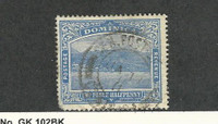Dominica, Postage Stamp, #53 Used, 1908