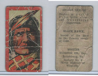 T74 Booker Tobacco, Indian Series, 1906, Black Hawk