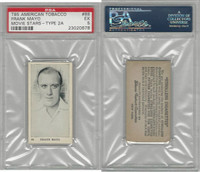 T85 American Tobacco, Movie Stars, 1922, #88 Frank Mayo, PSA 5 EX