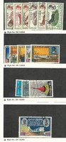 Ethiopia, Postage Stamp, #369-374, 396-8, 400, 470-2, 474 Used, 1961-7 Animals