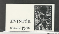 Faroe Islands, Postage Stamp, #120a Booklet Mint NH, 1984