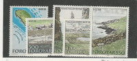 Faroe Islands, Postage Stamp, #161-165 Mint NH, 1987