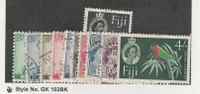 Fiji, Postage Stamp, #163-173 Used, 1959-63