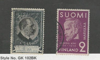 Finland, Postage Stamp, #197, 206 Used, 1931-34