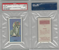 B0-0 Barratt, Walt Disney Characters, 1957, #19 Boris, PSA 9 Mint