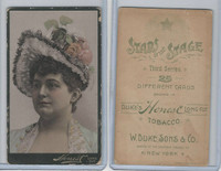 N131 Duke, Stars of The Stage, 3rd Series, 1890, Actresses (12)