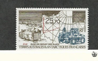 French Southern Antarctic, Postage Stamp, #C126 Mint NH, 1993