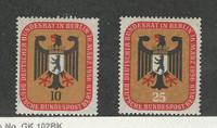 Germany - Berlin, Postage Stamp, #9N118-9N119 Mint LH, 1956