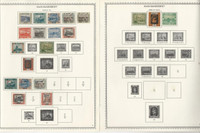 Saar Collection 1920 to 1959 on 28 One-Sided Minkus Specialty Pages