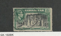 Gibraltar, Postage Stamp, #114a Perf 14 Used, 1942