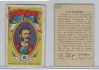 T98 LeRoy Cigars, Rulers of the World, 1900, Montenegro, Nicholas (Small)