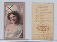 T411 American Tobacco, International Code Signals, 1910, V