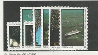 Grenada, Postage Stamp, #1527//1534 (7 Different) Mint Hinged, 1987