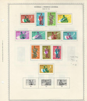 Guinea, Postage Stamp, #236-247 Mint LH, 1962 Musical Instruments (p)