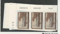 Haiti, Postage Stamp, #442-443, C136-C138 Strips Mint NH, 1959