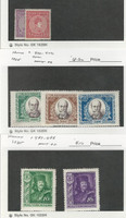 Hungary, Postage Stamp, #104-105, 400-402, 487-488 Mint Hinged, 1916-35