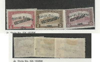 Hungary, Postage Stamp, #10N35-10N36, 10N39 Mint Hinged, 1919 Occupation