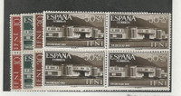 Ifni - Spanish, Postage Stamp, #B48-B51 Blocks Mint NH, 1960
