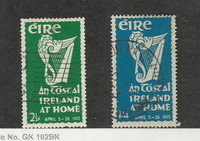 Ireland, Postage Stamp, #147-148 Used, 1953
