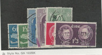 Ireland, Postage Stamp, #177-183 Used, 1961-62