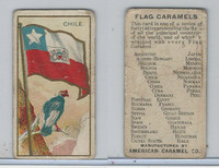 E15 American Caramel, Flag Caramels, 1910, Chile