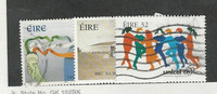 Ireland, Postage Stamp, #1000, 1006-1007 Mint & Used, 1996