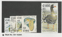 Ireland, Postage Stamp, #1036-1040 Used, 1997 Birds