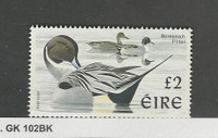 Ireland, Postage Stamp, #1067 Used, 1997 Bird Duck